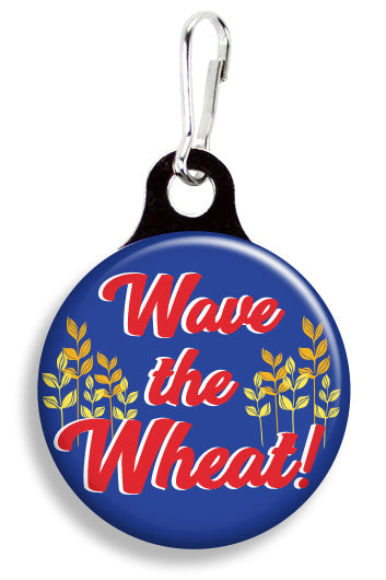 Kansas Wave the Wheat - Fetch Life Pet Outfitters Dog & Cat Collar Clips