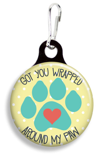 Wrapped Around My Paw - Fetch Life Pet Outfitters Dog & Cat Collar Clips