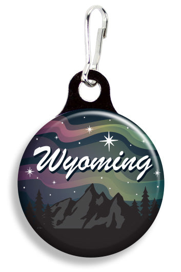 Wyoming Starry Sky - Fetch Life Pet Outfitters Dog & Cat Collar Clips