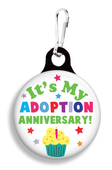 Adoption Anniversary - Fetch Life Pet Outfitters Dog & Cat Collar Clips
