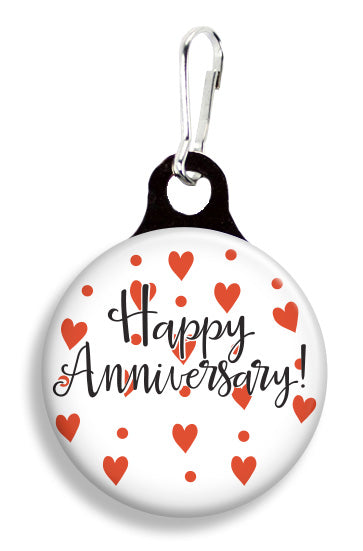 Happy Anniversary - Fetch Life Pet Outfitters Dog & Cat Collar Clips
