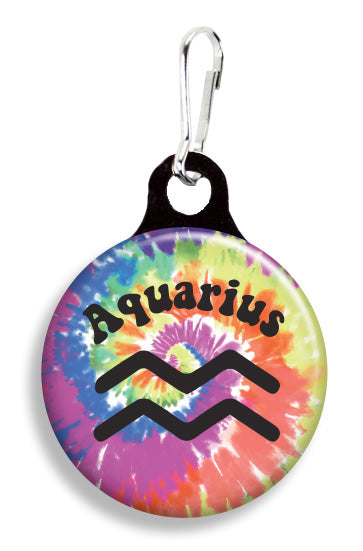 Aquarius Tie Dye - Fetch Life Pet Outfitters Dog & Cat Collar Clips