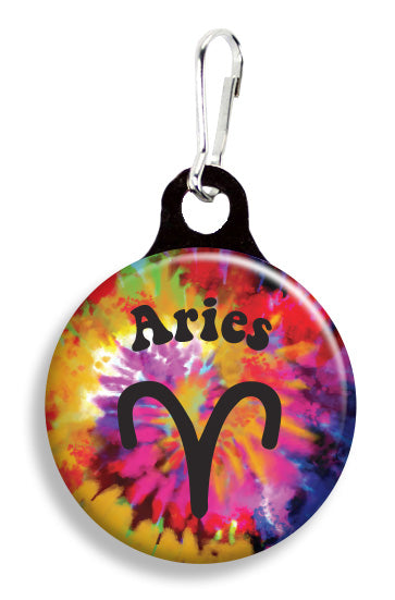 Aries Tie Dye - Fetch Life Pet Outfitters Dog & Cat Collar Clips