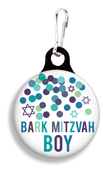 Bark Mitzvah Boy - Fetch Life Pet Outfitters Dog & Cat Collar Clips