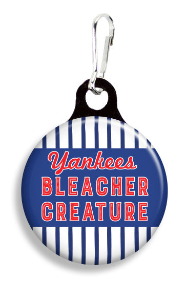 NY Yankee Bleacher Creature - Fetch Life Pet Outfitters Dog & Cat Collar Clips