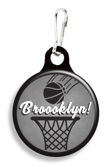 Broooklyn Basketball - Fetch Life Pet Outfitters Dog & Cat Collar Clips