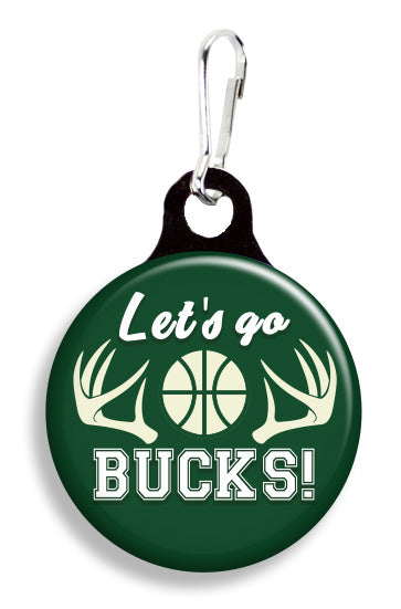 Milwaukee Let's Go Bucks - Fetch Life Pet Outfitters Dog & Cat Collar Clips