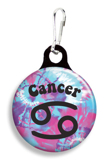 Cancer Tie Dye - Fetch Life Pet Outfitters Dog & Cat Collar Clips