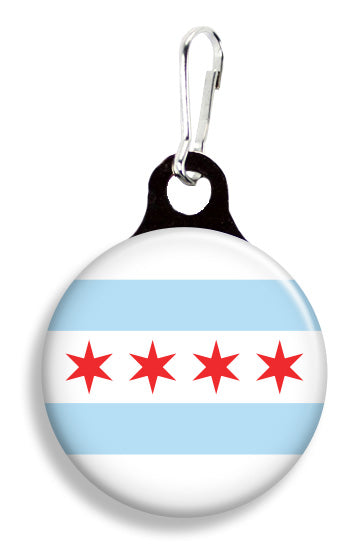 Chicago Flag - Fetch Life Pet Outfitters Dog & Cat Collar Clips