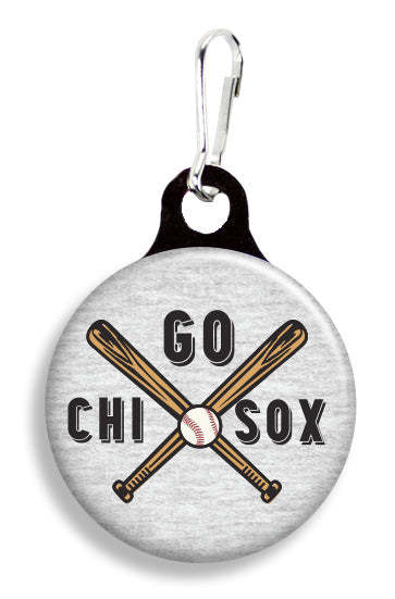 Chicago Let's Go Sox - Fetch Life Pet Outfitters Dog & Cat Collar Clips