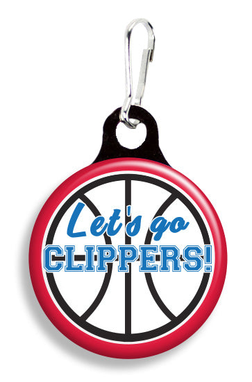 LA Let's Go Clippers - Fetch Life Pet Outfitters Dog & Cat Collar Clips