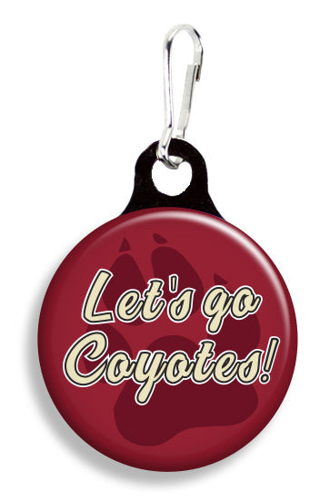 Arizona Let's Go Coyotes - Fetch Life Pet Outfitters Dog & Cat Collar Clips