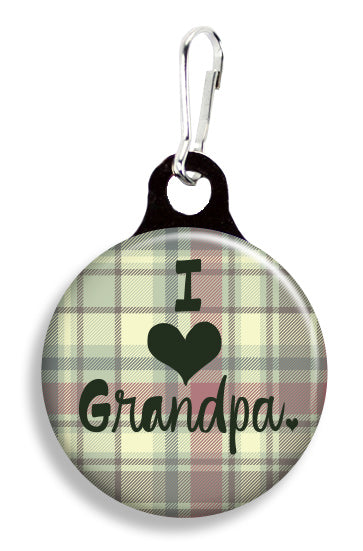 I Love Grandpa - Fetch Life Pet Outfitters Dog & Cat Collar Clips