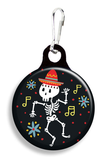Dancing Skeleton - Fetch Life Pet Outfitters Dog & Cat Collar Clips