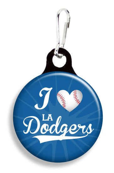 LA Dodgers Love - Fetch Life Pet Outfitters Dog & Cat Collar Clips