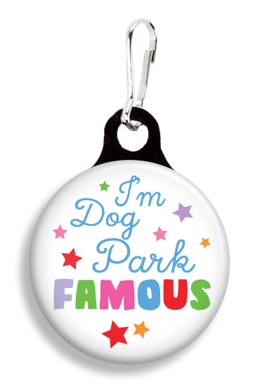 Dog Park Famous - Fetch Life Pet Outfitters Dog & Cat Collar Clips