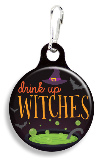 Drink Up Witches - Fetch Life Pet Outfitters Dog & Cat Collar Clips
