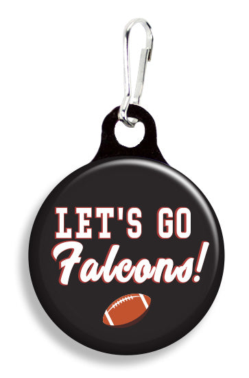 Atl Let's Go Falcons - Fetch Life Pet Outfitters Dog & Cat Collar Clips
