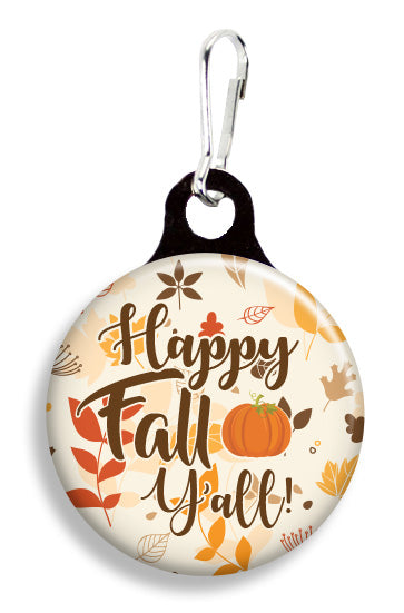 Happy Fall Y'All - Fetch Life Pet Outfitters Dog & Cat Collar Clips