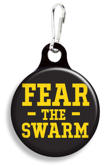 Iowa Fear the Swarm - Fetch Life Pet Outfitters Dog & Cat Collar Clips