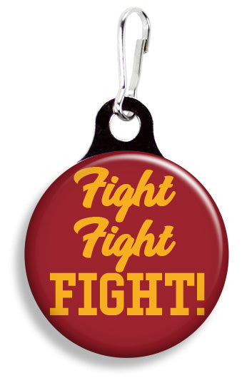 Iowa State Fight Fight Fight - Fetch Life Pet Outfitters Dog & Cat Collar Clips