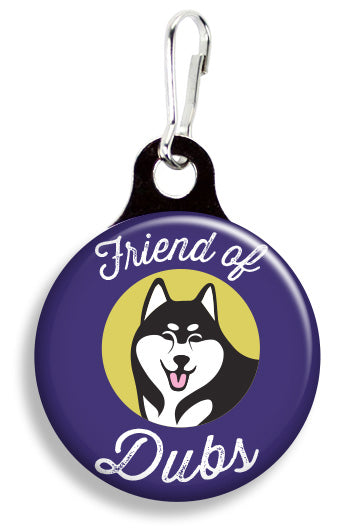 UW Friend of Dubs - Fetch Life Pet Outfitters Dog & Cat Collar Clips