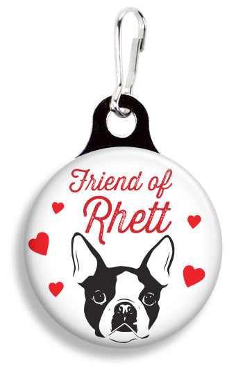 BU Friend of Rhett - Fetch Life Pet Outfitters Dog & Cat Collar Clips