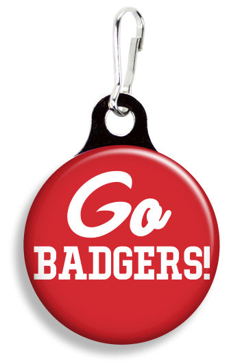 Wisconsin Go Badgers - Fetch Life Pet Outfitters Dog & Cat Collar Clips
