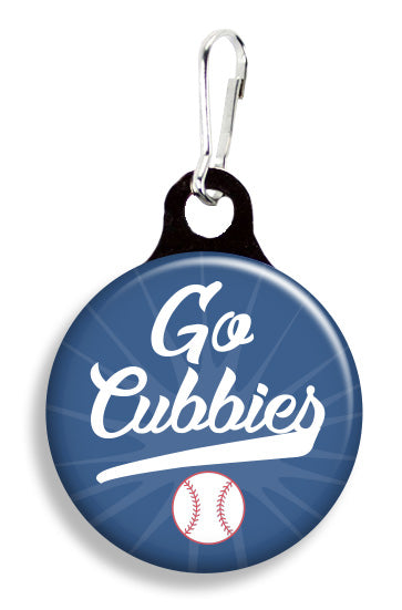 Chicago Go Cubbies - Fetch Life Pet Outfitters Dog & Cat Collar Clips