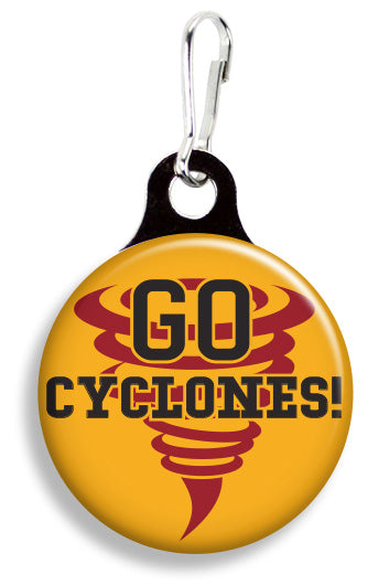 Iowa State Go Cyclones - Fetch Life Pet Outfitters Dog & Cat Collar Clips