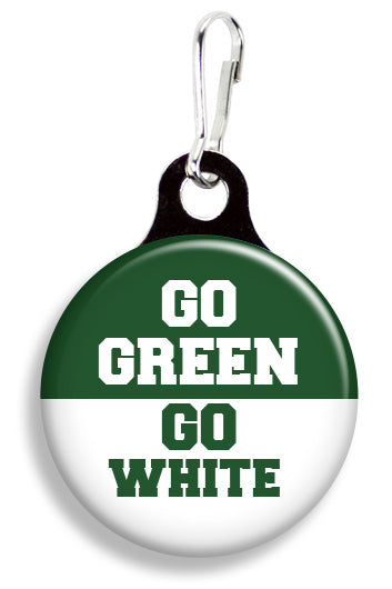 MSU Go Green Go White - Fetch Life Pet Outfitters Dog & Cat Collar Clips