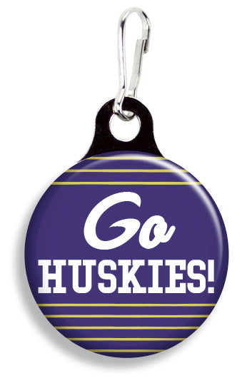 UW Go Huskies - Fetch Life Pet Outfitters Dog & Cat Collar Clips