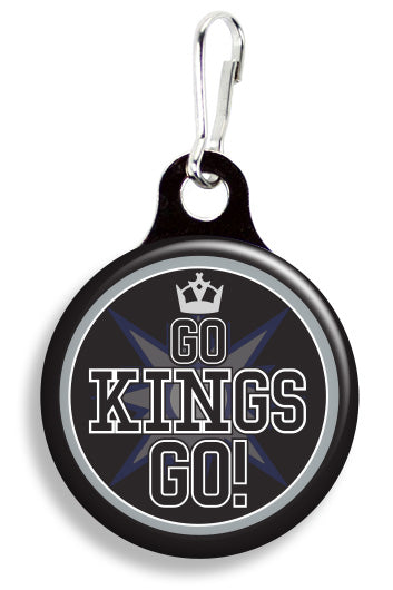 LA Go Kings Go - Fetch Life Pet Outfitters Dog & Cat Collar Clips