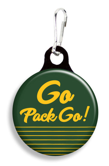 Green Bay Go Pack - Fetch Life Pet Outfitters Dog & Cat Collar Clips