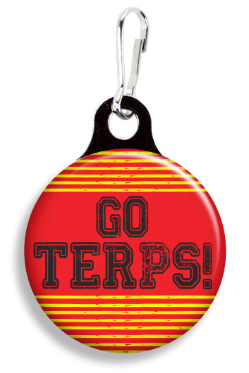 Maryland Go Terps - Fetch Life Pet Outfitters Dog & Cat Collar Clips
