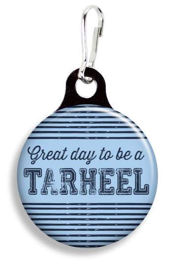 UNC Great Day to be a Tarheel - Fetch Life Pet Outfitters Dog & Cat Collar Clips