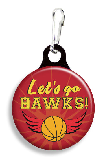 Atlanta Hawks - Fetch Life Pet Outfitters Dog & Cat Collar Clips