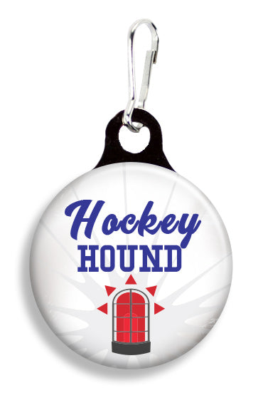 Hockey Hound - Fetch Life Pet Outfitters Dog & Cat Collar Clips