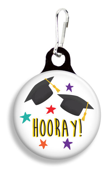 Graduation Hooray - Fetch Life Pet Outfitters Dog & Cat Collar Clips