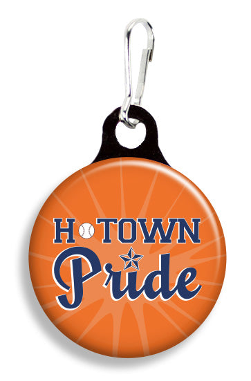 Houston Astros H-Town Pride - Fetch Life Pet Outfitters Dog & Cat Collar Clips
