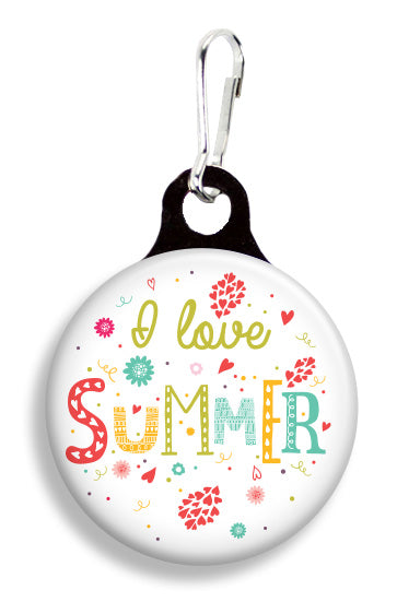I Love Summer - Fetch Life Pet Outfitters Dog & Cat Collar Clips