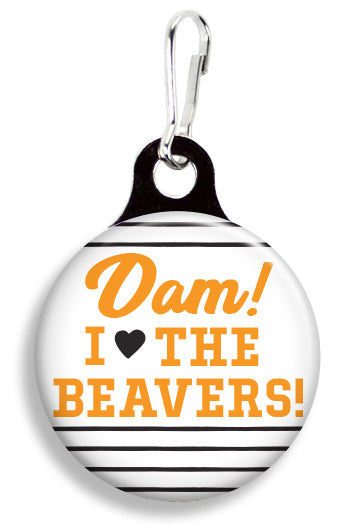 Oregon State Dam I Love the Beavers - Fetch Life Pet Outfitters Dog & Cat Collar Clips