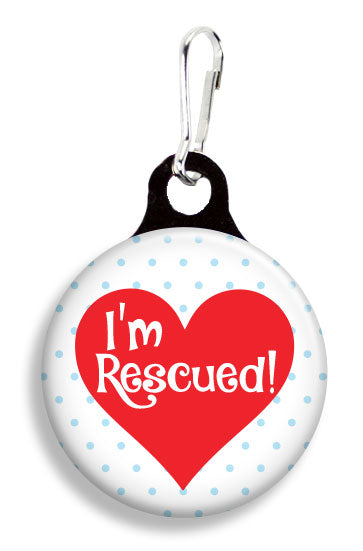 I'm Rescued! - Fetch Life Pet Outfitters Dog & Cat Collar Clips