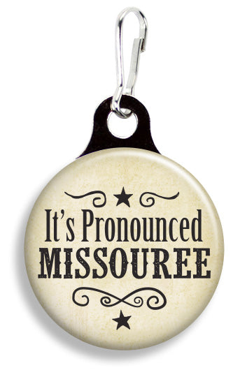 Pronounced Missouree - Fetch Life Pet Outfitters Dog & Cat Collar Clips
