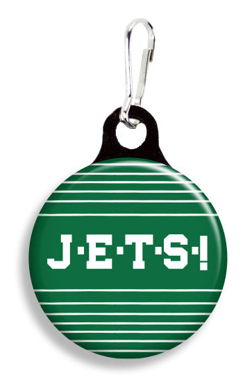 NY Jets - Fetch Life Pet Outfitters Dog & Cat Collar Clips