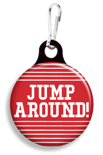 Wisconsin Jump Around - Fetch Life Pet Outfitters Dog & Cat Collar Clips