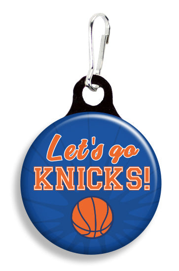 NY Let's Go Knicks - Fetch Life Pet Outfitters Dog & Cat Collar Clips