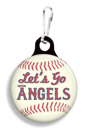 LA Angels Baseball - Fetch Life Pet Outfitters Dog & Cat Collar Clips