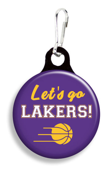 LA Let's Go Lakers - Fetch Life Pet Outfitters Dog & Cat Collar Clips