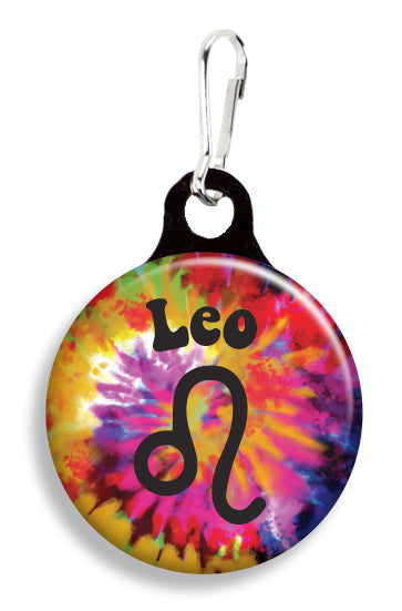 Leo Tie Dye - Fetch Life Pet Outfitters Dog & Cat Collar Clips